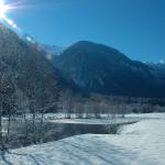 Romantische Winterlandschaft (Golfplatz, Loch 15)